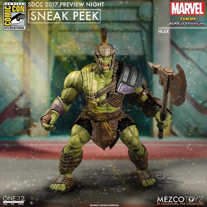 Armas de Hulk en Thor: Ragnarok