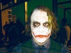 Heath Ledger como El Joker de El Caballero Oscuro