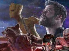 Groot en Vengadores: Infinity War