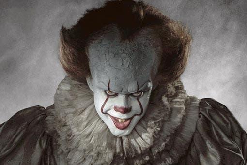 IT (2017) con el terrorífico payaso Pennywhise de protagonista.