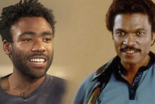 Donald Glover es Lando Calrissian en Han Solo (Star Wars)
