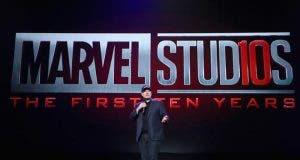 Nuevo logo de Marvel Studios X Aniversario