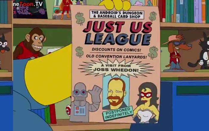 Los Simpson predijeron que Joss Whedon dirigiría la Liga de la Justicia