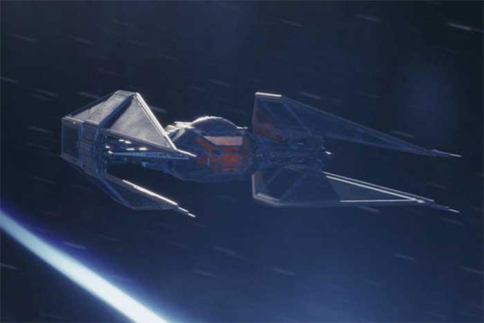 Nave Kylo Ren Star Wars: Los últimos Jedi
