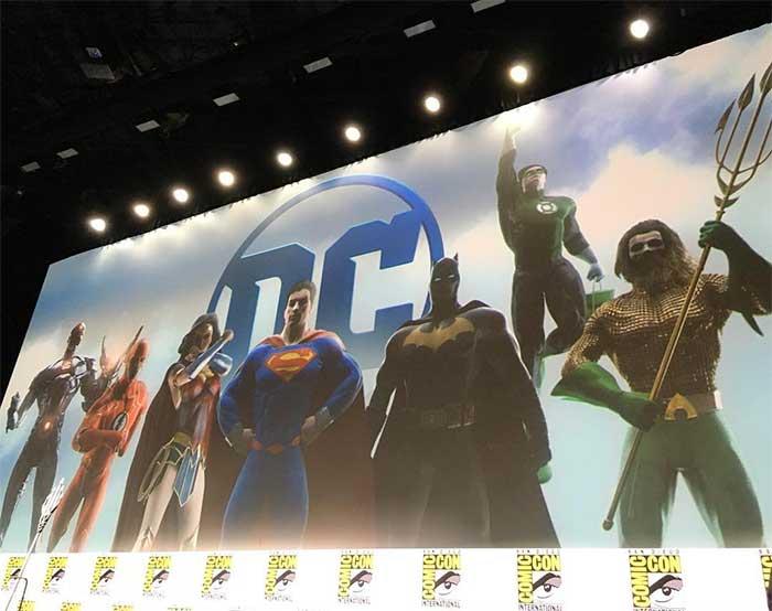 SDCC2017 La Liga de la Justicia