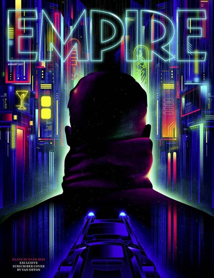 Portada de Empire con Blade Runner 2049