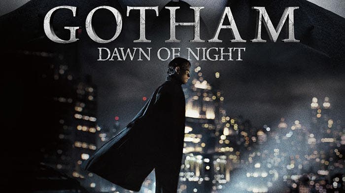 Póster de Gotham con Batman