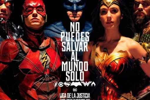 Poster Justice League La Liga de la Justicia