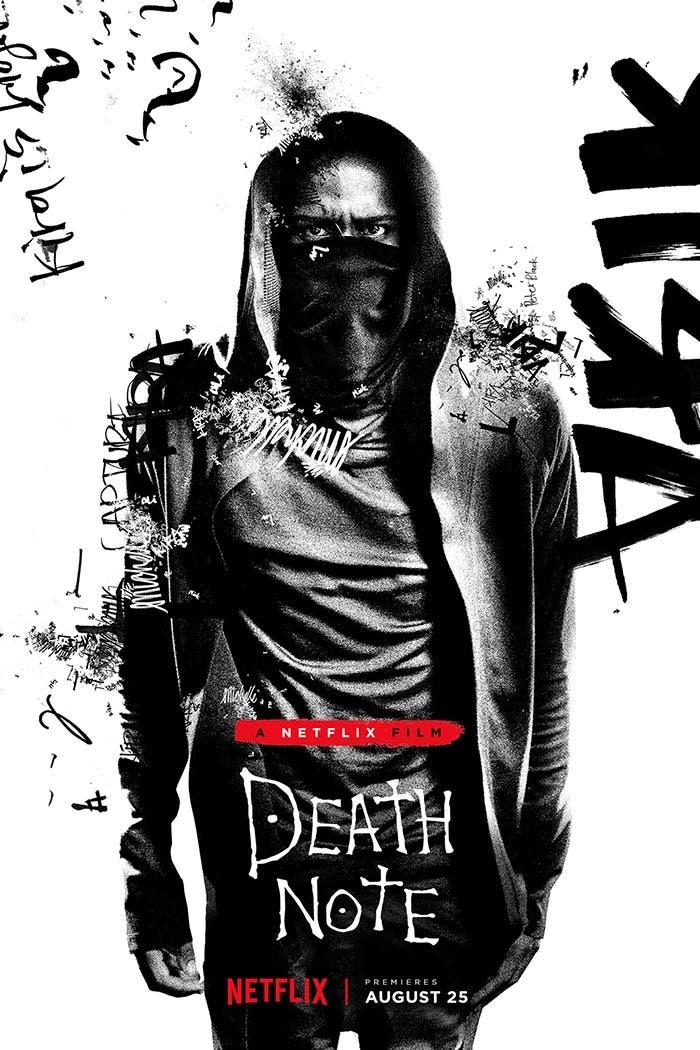Death Note - Estrenos Netflix: Agosto 2017