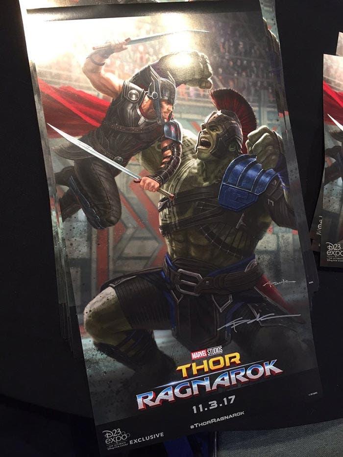 Thor: Ragnarok póster
