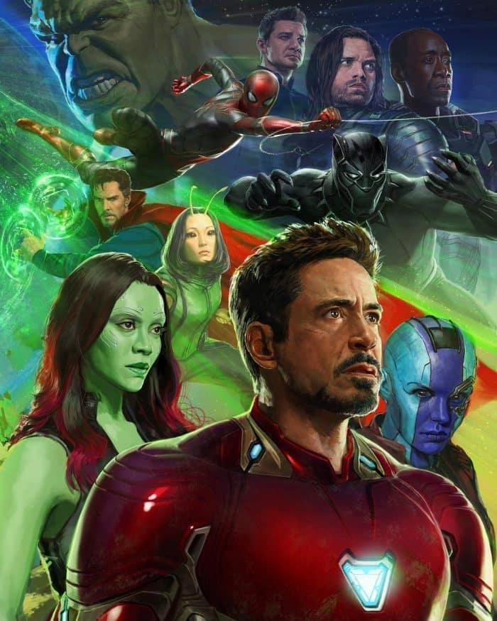 Nébula tendrá un nuevo mejor amigo en Vengadores: Infinity War (2018)