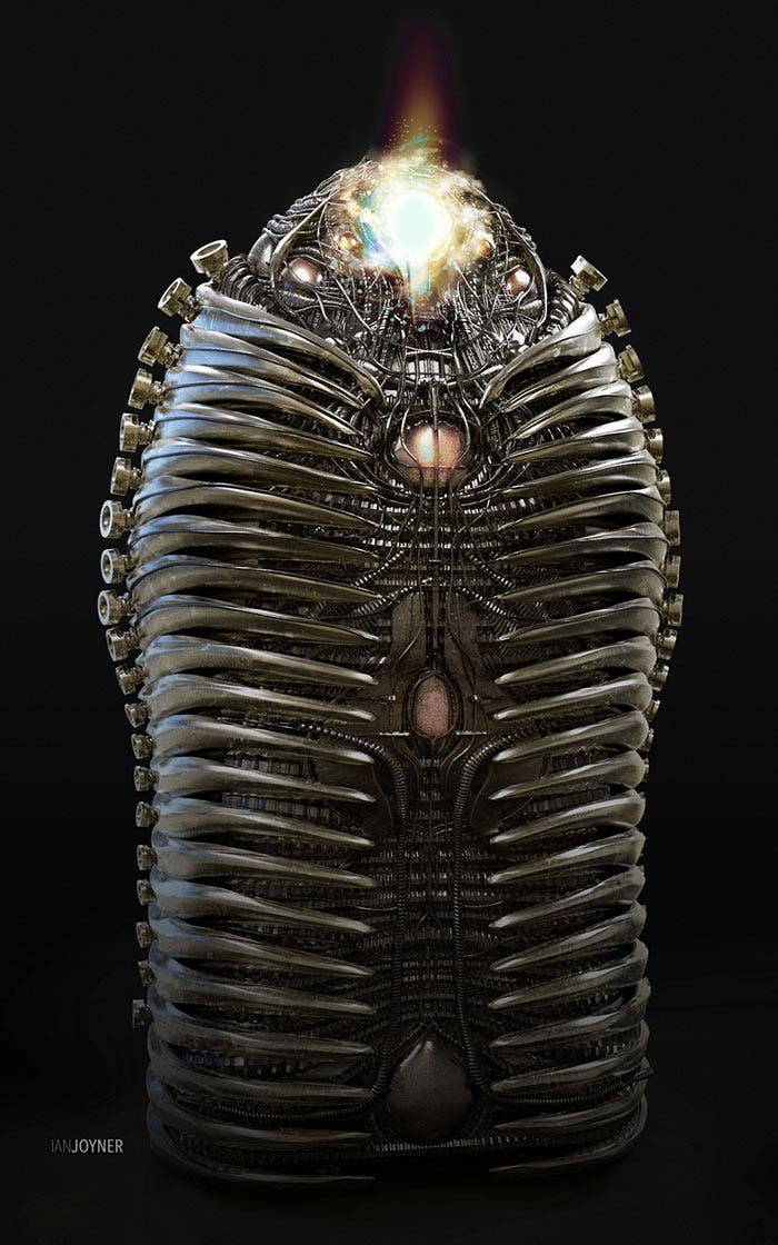 Pupa de Adam Warlock en Guardianes de la Galaxia Vol. 2