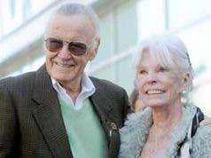 Joan Lee y Stan Lee