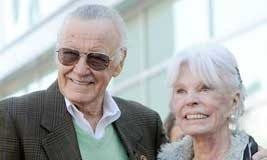 Joan Lee y Stan Lee
