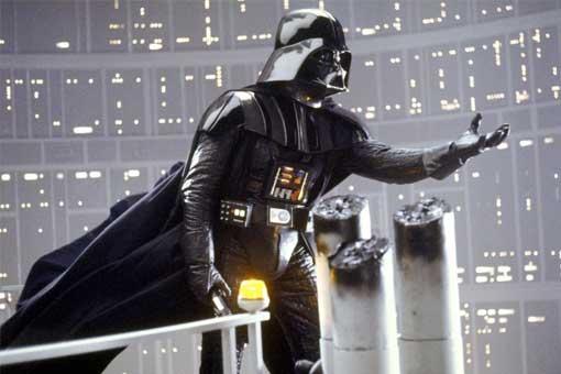 Fotograma Darth Vader star wars el imperio contraataca