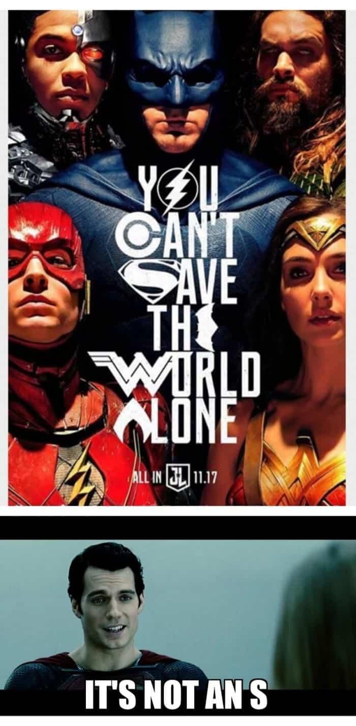 teoría póster Liga de la Justicia