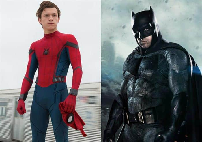 Tom Holland hace de Batman