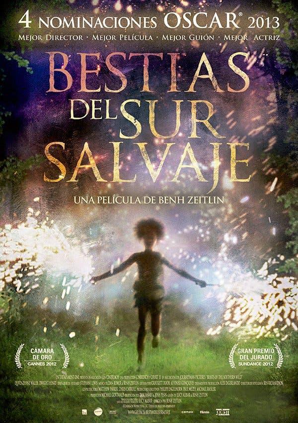 "Poster for the movie ""Bestias del sur salvaje"""