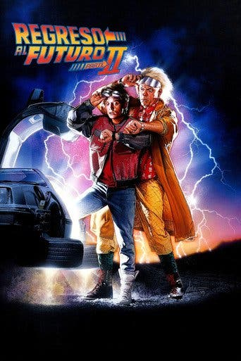 Poster for the movie Regreso al futuro II