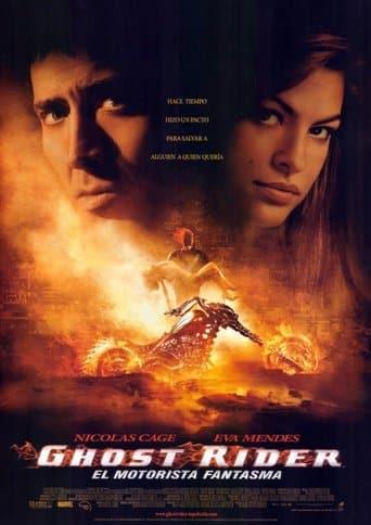 """Poster for the movie """"Ghost Rider: El motorista fantasma"""""""