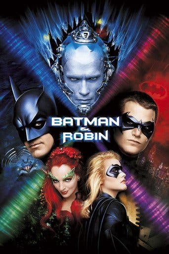 "Poster for the movie ""Batman y Robin"""