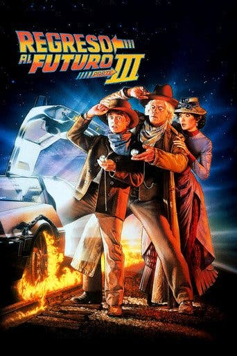 Poster for the movie Regreso al futuro III