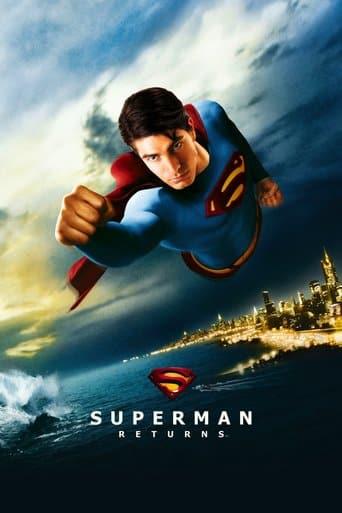 "Poster for the movie ""Superman Returns (El regreso)"""