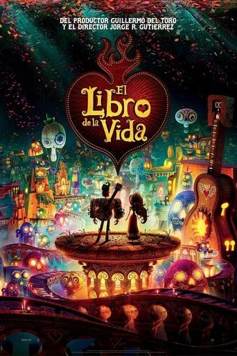 "Poster for the movie ""El libro de la vida"""