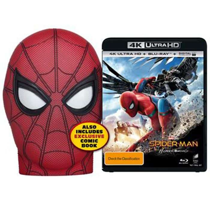 Blu-ray de Spider-Man: Homecoming