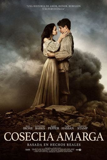 """Poster for the movie """"Cosecha amarga"""""""