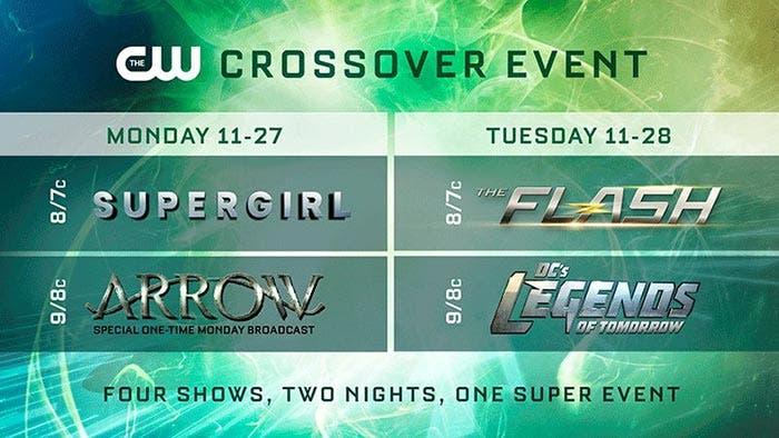 Crossover Arrowverse 2017