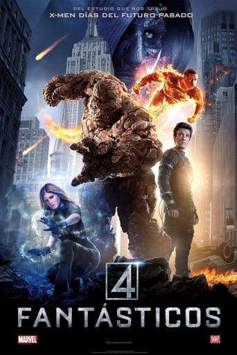 "Poster for the movie ""Cuatro fantásticos"""