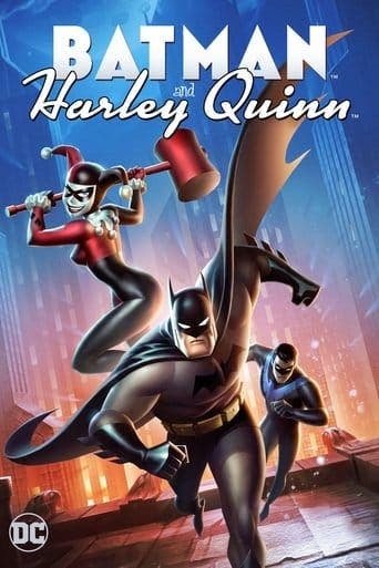 "Poster for the movie ""Batman y Harley Quinn"""