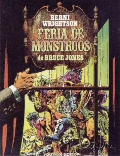 feria de monstruos Bruce Jones 1984