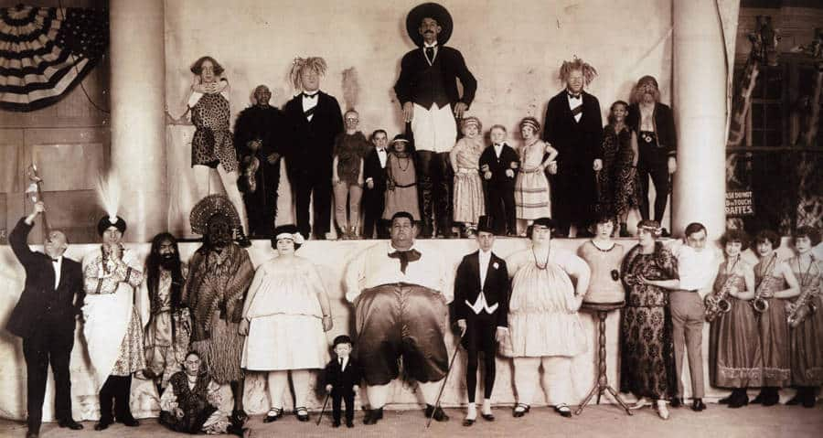 freak show 1924