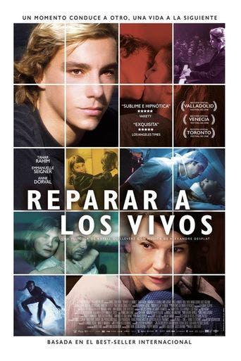 """Poster for the movie """"Reparar a los vivos"""""""