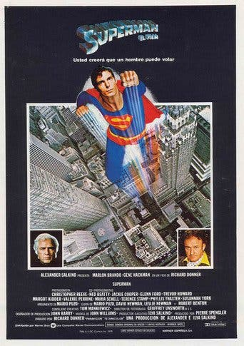 "Poster for the movie ""Superman"""