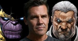Josh Brolin como Cable y Thanos