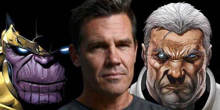 Resultado de imagen para Thanos vs Cable