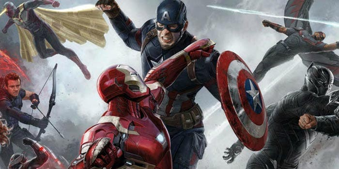 Los Vengadores en Vengadores: Infinity War