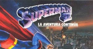 "Poster for the movie ""Superman II, la aventura continúa"""