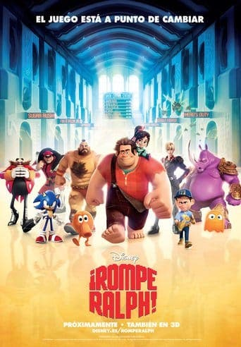 "Poster for the movie ""¡Rompe Ralph!"""