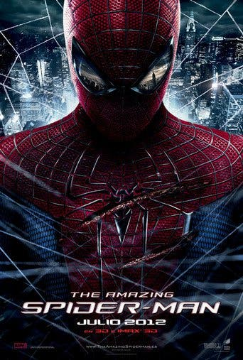 Poster for the movie The Amazing Spider-Man