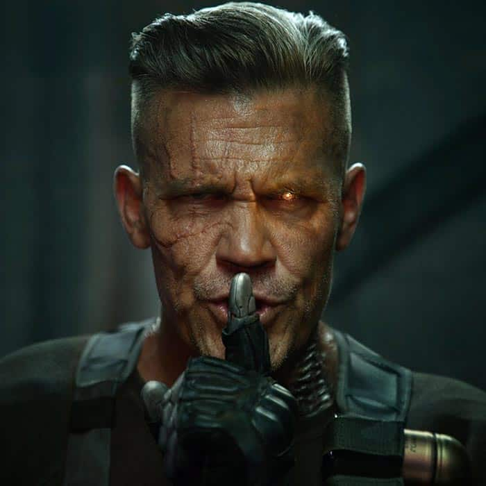 Josh Brolin es Cable en Deadpool 2