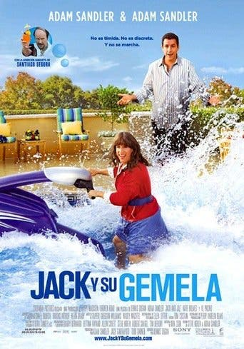 "Poster for the movie ""Jack y su gemela"""