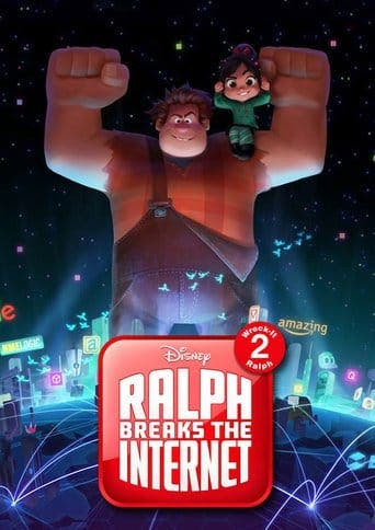 "Poster for the movie ""Ralph rompe Internet"""