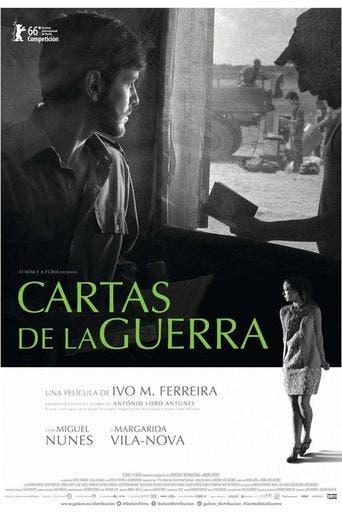 """Poster for the movie """"Cartas de la guerra"""""""