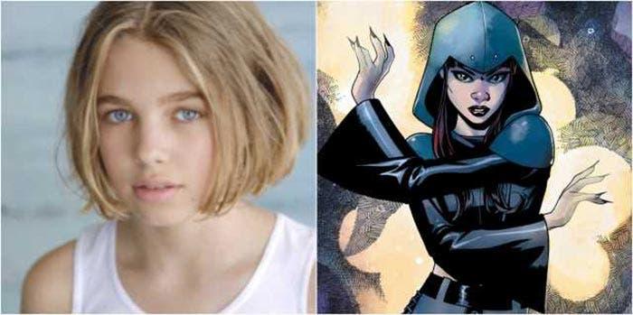 Teagan Croft como Raven en Titans