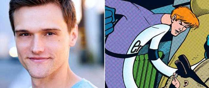 Hartley Sawyer como el Hombre Elástico en The Flash (T4)