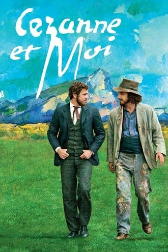 "Poster for the movie ""Cézanne y yo"""